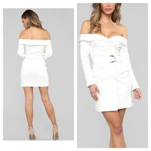 NWT Fashion Nova Boss Mode Blazer Mini Dress